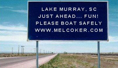 Please Practice Safe and Courteous Boating at Lake Murray